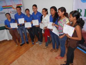 Absolventinnen und Absolventen des Medientrainings (c) LSVD