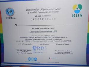 Zertifikat für das Medientraining
