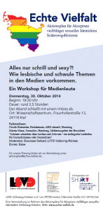 Flyer zum Workshop