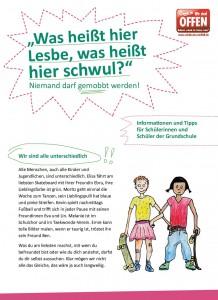 Handreichung für die Grundschule gegen Mobbing