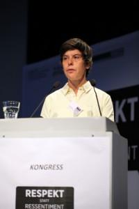 Dr. Heike Radvan (Amadeu Antonio Stiftung) (c) LSVD / Kadatz