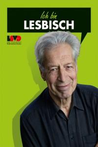 Dr. Henning Scherf ist lesbisch - Flyer LSVD Niedersachsen-Bremen