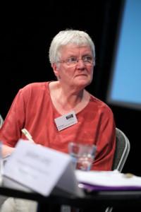 Henny Engels (LSVD-Bundesvorstand und Moderatorin) (c) LSVD / Kadatz