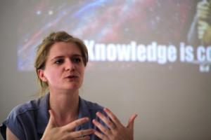 Katrin Gottschalk, Chefredakteurin vom Missy Magazin (c) LSVD / Kadatz