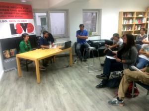 Veranstaltung in der Kölner LSVD-Geschäftsstelle