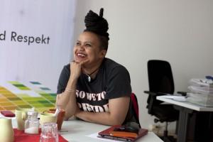 Dawn Cavanagh, Geschäftsführerin von CAL beim LSVD (August 2015)
