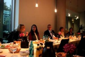 Christine Lüders (Antidiskriminierungsstelle des Bundes), Selmin Çalışkan (amnesty), Sönke Rix (MdB), Katrin Hugendubel (ILGA Europe) und Maja Liebing (amnesty) (v.l.)