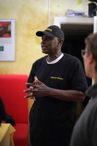 Oumar Diallo, Leiter Afrikahaus