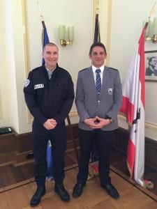 EGPA-Vizepräsident Alain Parmentier (Frankreich) und EGPA-Präsident Petrik Thoman (Schweiz) (c) Marco Klingberg