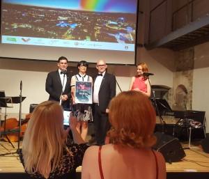 Preisträgerin Marta Kos Marko