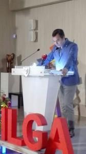 ILGA-Europe Konferenz 2016 - Constantinos Yiorkadjis, Bürgermeister der Stadt Nikosia © LSVD-Bundesverband