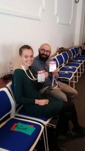 LGBT United auf der Konferenz in Pristina
