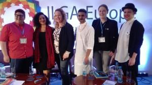Wer ist die Community? - Panelist*innen auf der ILGA-Konferenz (c) HES