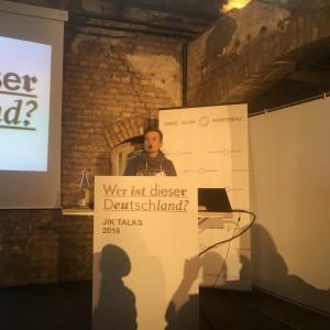 Jenny Renner auf der Jungen Islamkonferenz (c) LSVD