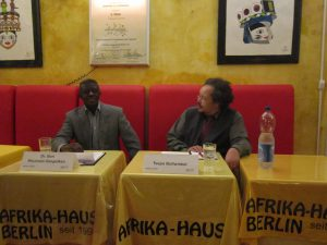 Afrikahaus Berlin 2016 - Ben Khumalo-Seegelken und Tsepo Bollwinkel