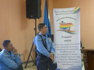 Schulung für die Polizei in Honduras