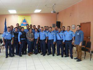 Schulung für Polizei in Honduras