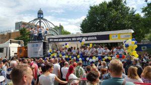 Wagen der Hirschfeld-Eddy-Stiftung beim Berliner CSD 2015 - Foto: Hirschfeld-Eddy-Stiftung