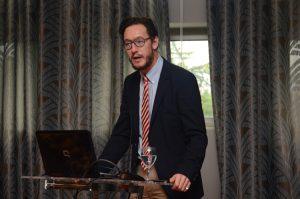 Axel Hochrein, Vorstand der Hirschfeld-Eddy-Stiftung, in Belgrad - Foto: Liljana Bozovic