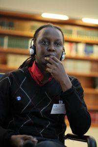 Kasha Jacqueline Nabagesera (Mitbegründerin von FARUG Uganda) - Foto: Caro Kadatz