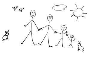 Regenbogenfamilien - Grafik: LSVD