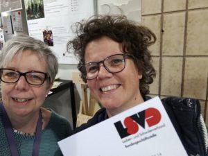 Konstanze Gerhard und Marion Lüttig vom LSVD bei der EL*C (c) Konstanze Gerhard