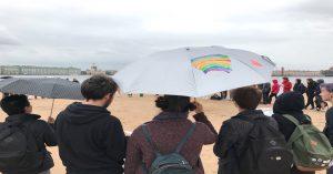 LGBTI-Jugendliche beim Austausch im August 2017 auf der Haseninsel in Sankt Petersburg (c) Ben Reichel