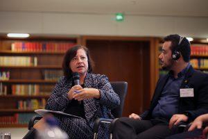 Menschenrechtsbeauftragte Bärbel Kofler; Photo: Caro Kadatz