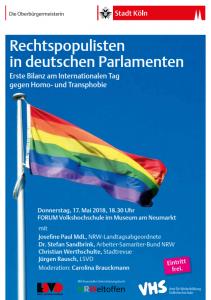 Rechtspopulisten in deutschen Parlamenten © VHS Köln