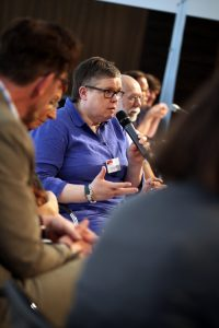 LSVD-Bundesvorstand Gabriela Lünsmann (c) LSVD/ Kadatz
