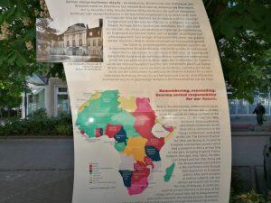 Gedenktafel in der Wilhelmstraße zur Berliner Kongo-Konferenz 1884/85 (c) Hirschfeld-Eddy-Stiftung
