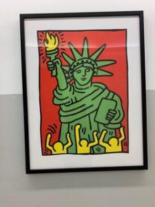 Bild von Keith Haring im LGBTIQ-Centre NYC (c) Halina Bendkowski