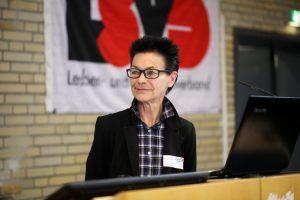 Regenbogenparlament 2019 - Barbara Mansberg  © LSVD / Foto: Caro Kadatz