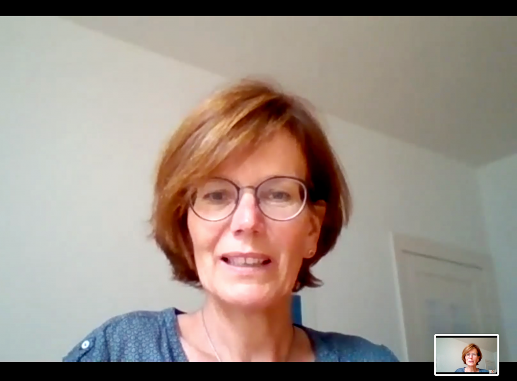 Referentin Silke Voss Kyeck